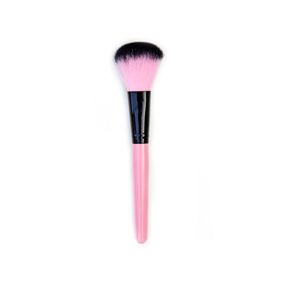 Lady in Pink Makeup Brush